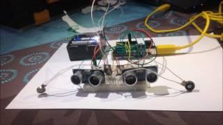 Détecteur d'objet - test deux moteurs