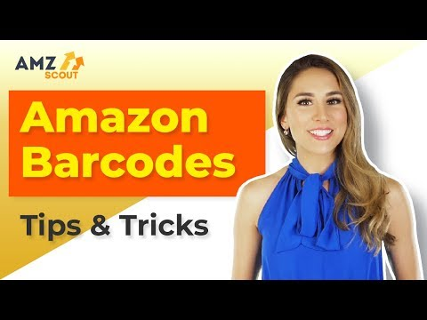 Amazon FBA Barcodes Explained: How to Get & Apply Them for Beginners (2019)!