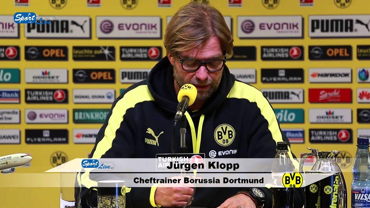 BVB Pressekonferenz vom 25. Januar 2014 nach dem Spiel Borussia Dortmund gegen den FC Augsburg