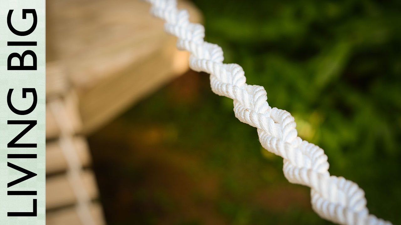Backyard Rope Bridge building a diy rope bridge - youtube
