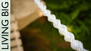 Building A Diy Rope Bridge