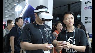 "Pico展台:5G+VR 让我在夏天也能快乐""滑雪"" | CESA2019"