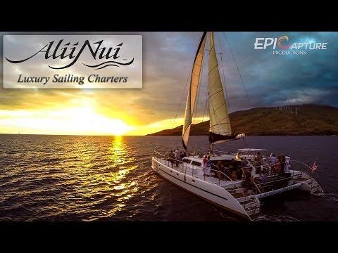 Ali'i Nui ~ Luxury Sailing Charters Promo