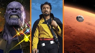Thanos Joins Fortnite + Solo BIGGER Than Black Panther? + We're Going Back to Mars!