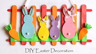 Diy Easter Decorations | Easy Spring Room Decor Ideas | Door/ Wall Hanging Easter Bunny
