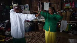"Bajau Laut – An Elderly Couple Performs Traditional ""Igal-igal"" Dance in Sitangkai"