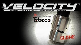 Velocity (Clone) RDA By Tobeco