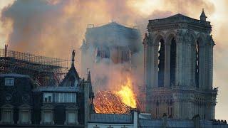NOTRE DAME IS ON FIRE?! - Notre Dame de Paris fire livestream
