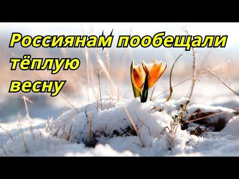 Россиянам пообещали теплую весну. «Крещенских» морозов не будет