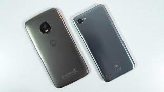 LG Q6 vs Moto G5 Plus Speed Test, Memory Management test and Benchmark Scores