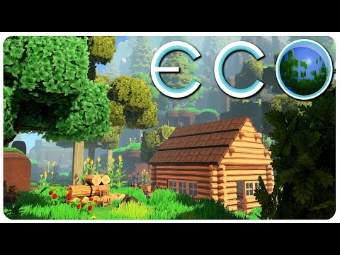 ECO - Create a Civilization n' Save Earth! (Multiplayer Survival Game) | Eco Gameplay