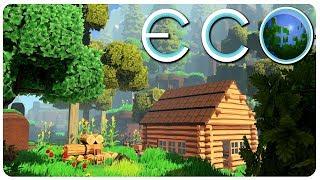ECO - إنشاء الحضارة n' لإنقاذ الأرض! (متعددة لعبة البقاء على قيد الحياة) | بيئة اللعب