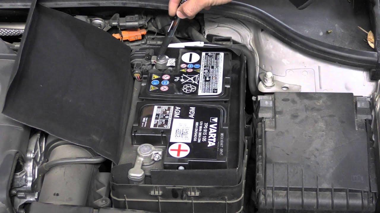 2016 Audi Q5 >> Baterías AGM en sistemas Start & Stop. - YouTube