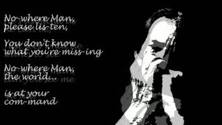 Nowhere Man-Harmonica (with lyrics)
