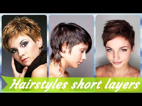 20 Hottest 🌟 ideas for layered hairstyles for short hair 2019