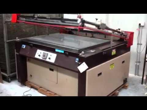 SIAS America screen print machine 1