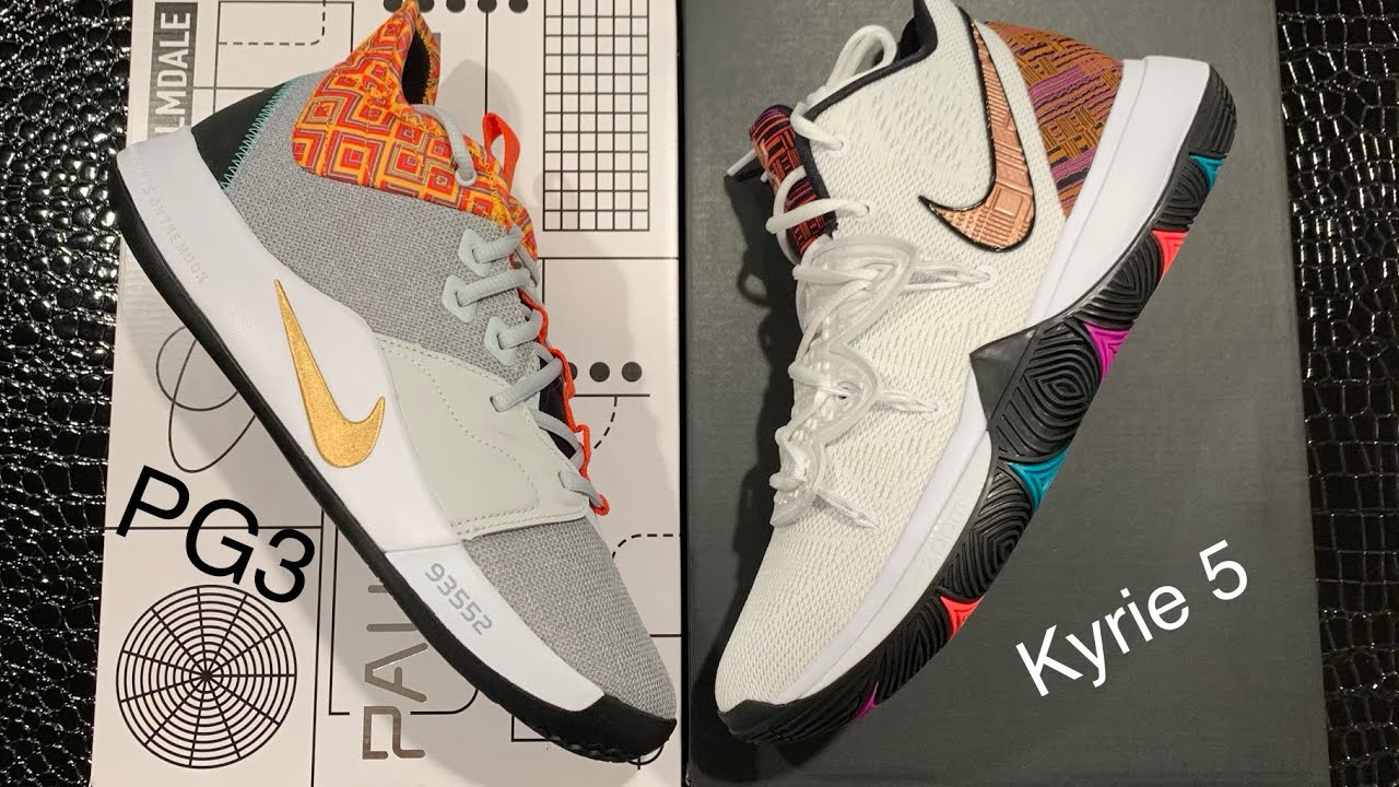 bc2000b9997 Nike Kyrie 5 vs. PG 3 Comparison - Which Is More Worth It   Better ...
