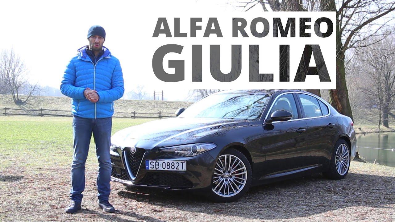Alfa Romeo Giulia 2.2 TD 180 KM / 2.0 200 KM, 2017 – test AutoCentrum.pl #324
