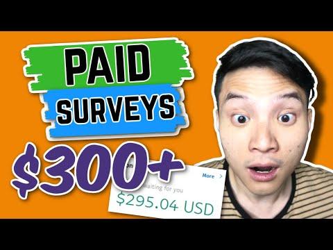 Get Paid To Take Surveys: Earn $300+ (Worldwide 2021)