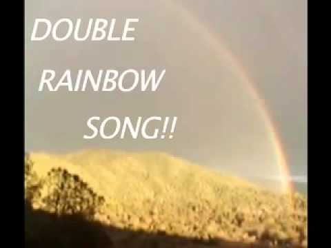 "THE GREGORY BROTHERS ""THE DOUBLE RAINBOW SONG"""