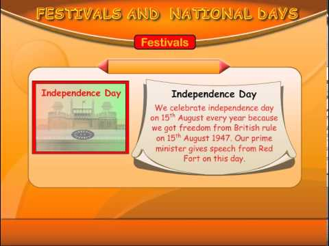 Indian Festivals and National Days
