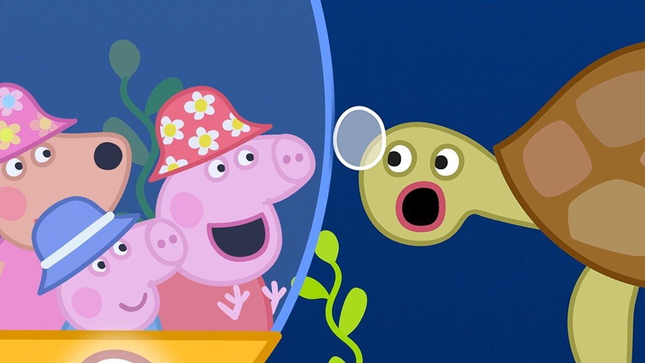 Peppa Pig Italiano 🐟 Sotto Il Mare! - Collezione Italiano - Cartoni Animati
