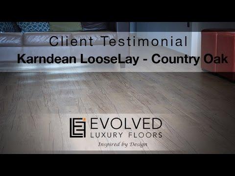 Elfloors Testimonial Karndean Looselay Country Oak Youtube