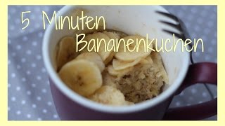 5 Minuten Bananenkuchen | for that mhmm