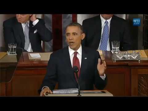 Барак Обама. Выступление 2012 года. Паузы между фразами.