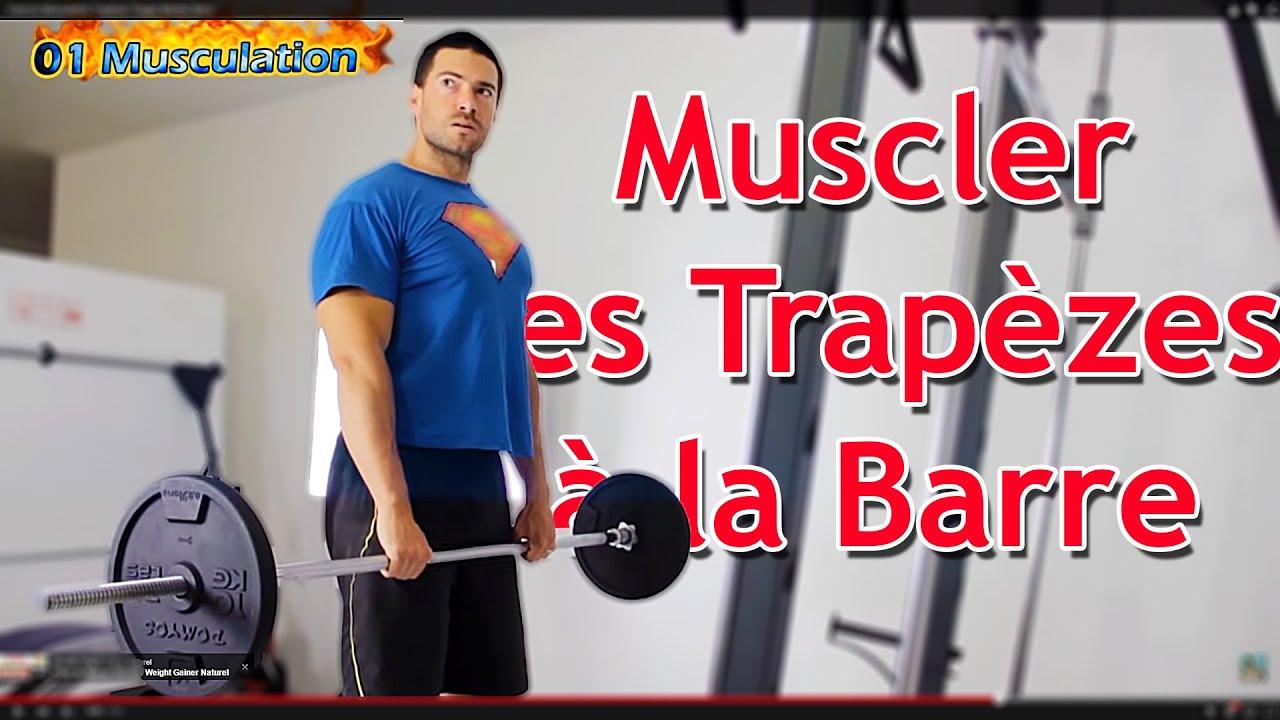 Exercice Musculation Épaules et Trapèzes Tirages Menton ...