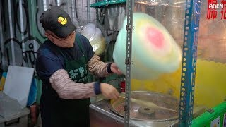 Cotton Candy Street Food - Flower, Panda, Duck, Pig, Bear, Dog, Heart, Hat