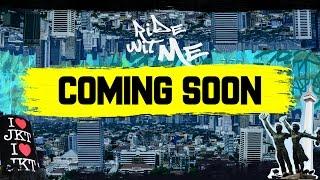Coming soon: #ridewitmejakarta