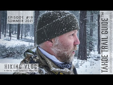 Outdoor VLOG 19: Contemplating Time Management on a Snowy Spring Hike
