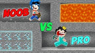 NOOB VS PRO 😂 Minecraft Serie de Mods (Trollino y Timba) #1