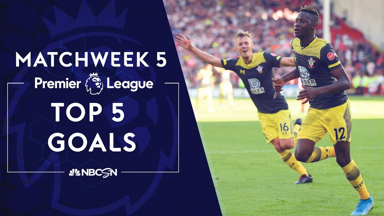Top 5 goals from Premier League 2019/20 Matchweek 5 | NBC Sports