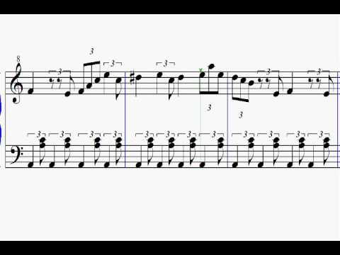 Elephant Parade Sheet Score Music For Easy Piano Las ánimas Del Terror Partitura Youtube