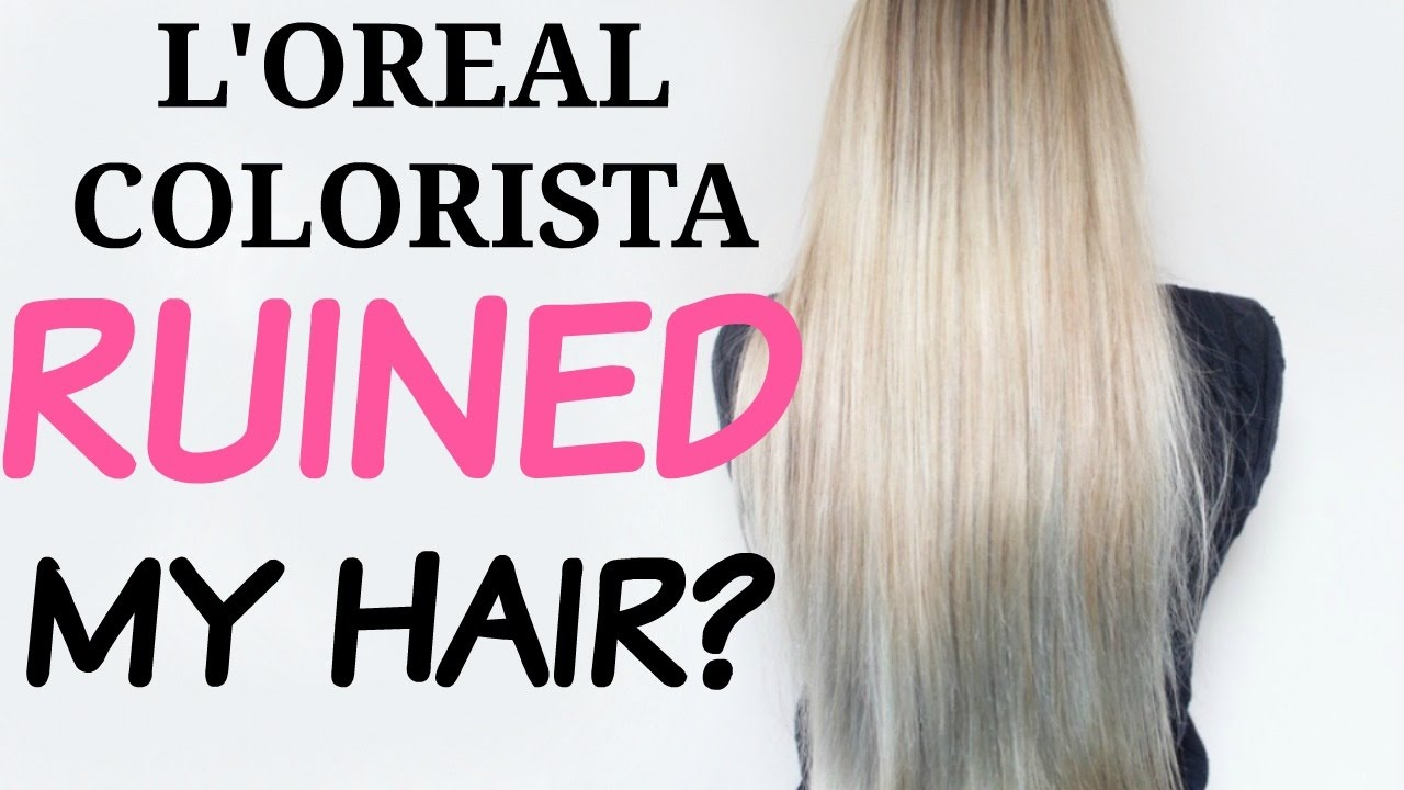 LOREAL COLORISTA WASHOUT REVIEW 2 Month FOLLOW UP