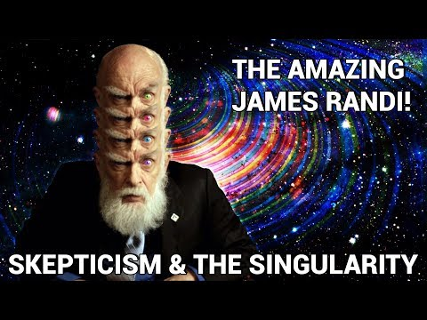 The Amazing James Randi! - Skepticism, the Singularity, Future Technology & Favorite Frauds