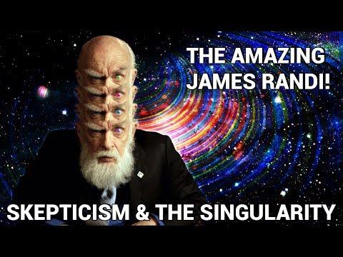 The Amazing James Randi! - Skepticism, the Singularity, Future Technology & Favorite Frauds