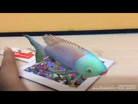 Fish Virtual Reality Demo Video Augmented Reality Demo