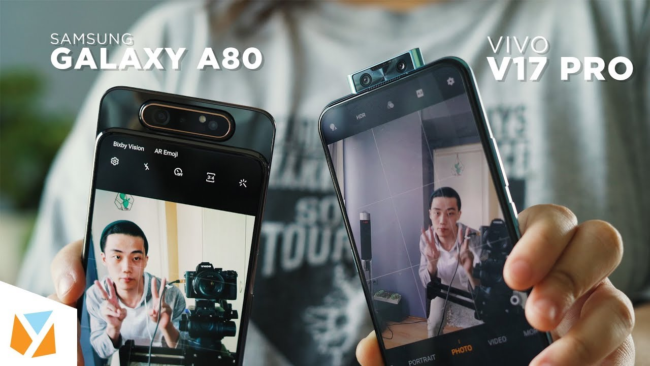 Vivo V17 Pro vs Samsung Galaxy A80 Comparison Review