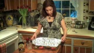 Using Asherah's Gourmet Organic Quinoa Vegan/veggie Burger As A Stuffing.  Yum!