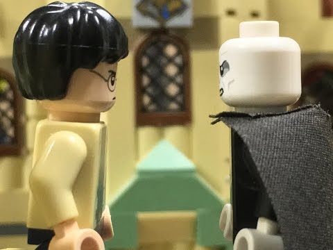 LEGO Harry Potter and the Deathly Hallows Part 2: Harry vs. Voldemort Final Battle Clip