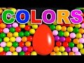 Learn Colors With Surprise Eggs In English For Kids Toddlers video