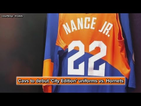 online store 0557c c9435 Cleveland Cavaliers to debut 'City Edition' uniforms vs. Charlotte Hornets