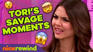 Tori Vega's Most SAVAGE Moments and Comebacks in Victorious! 😈 NickRewind
