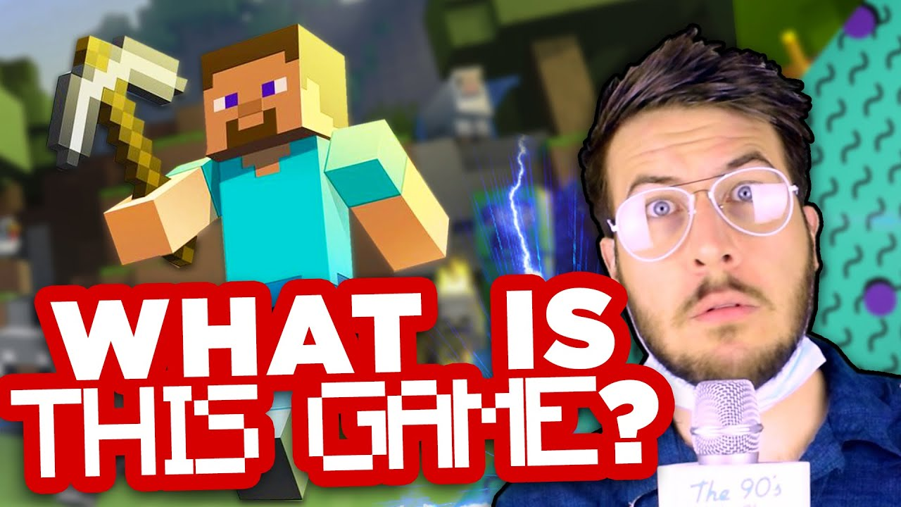 Time Traveler Discovers Minecraft - THE FUTURE IS DUMB