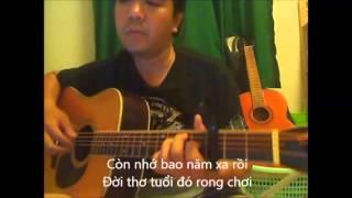 TRONG TAM MAT DOI (Tu Nhi) - [Guitar solo] [K'K] accoustic