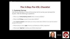 Week 1 Coaching - The 5 Step Pre-VSL Formula