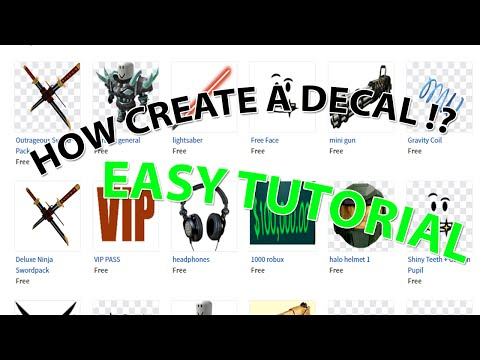 HOW UPLOAD A DECALS ON ROBLOX(2016) OR ADD A DECAL IN A OTHER GAME ! | Tutorial By : Maxboy318